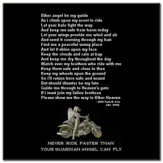 Fallen Bikers Prayer http://bigwetdream.wordpress.com/tag/bikers-prayer/